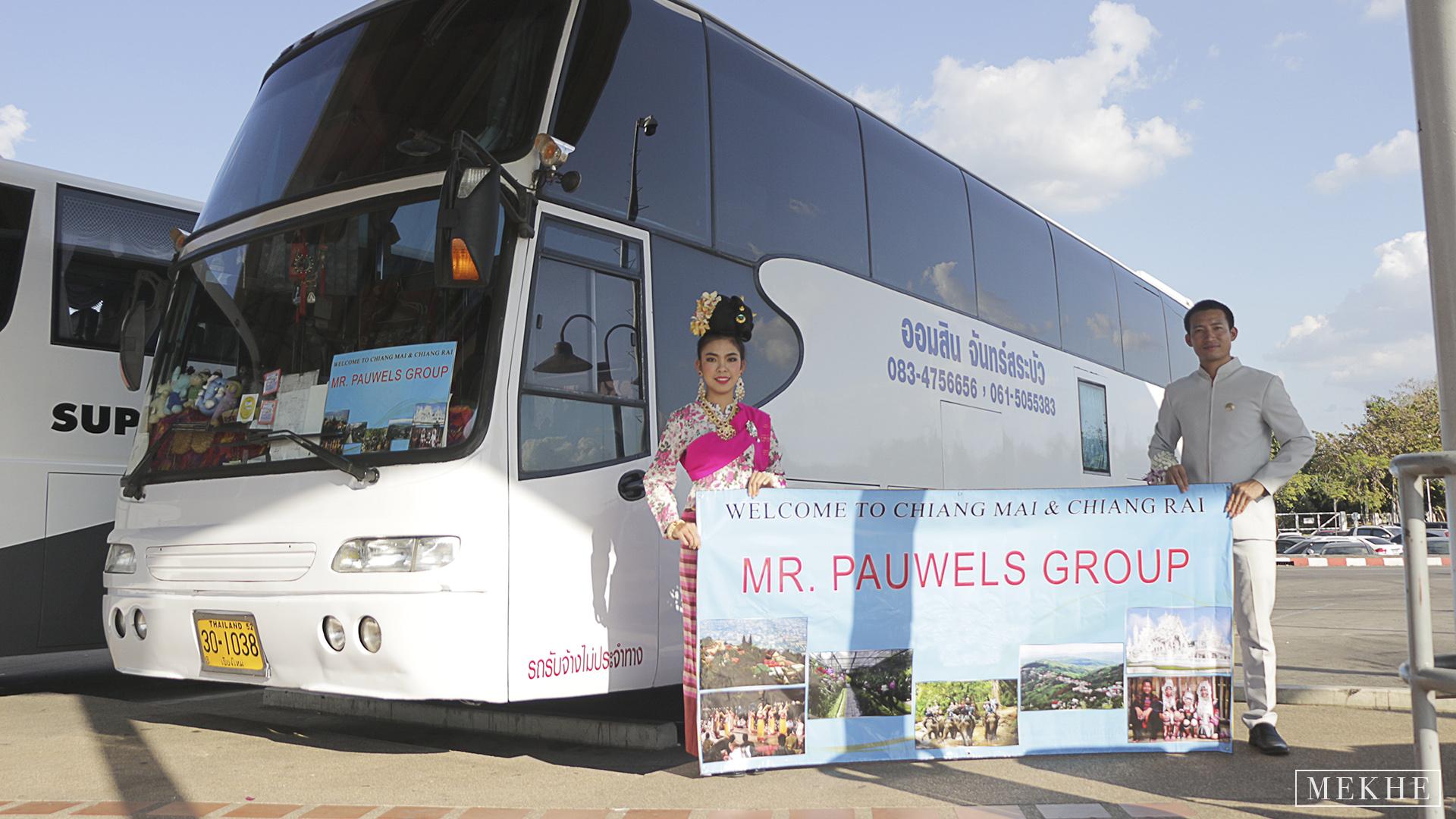 Thailand Tour Bus & Coach Service - Offers premium quality